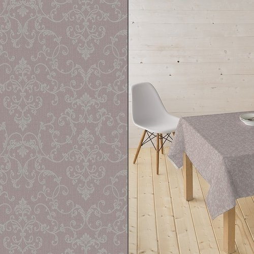 Coated Table textiles Bells taupe