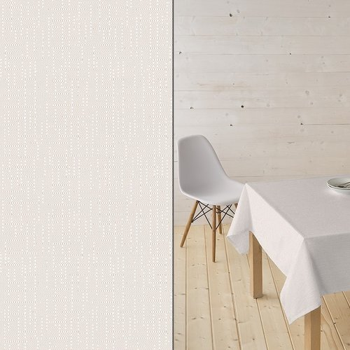Coated Table textile Ginger beige