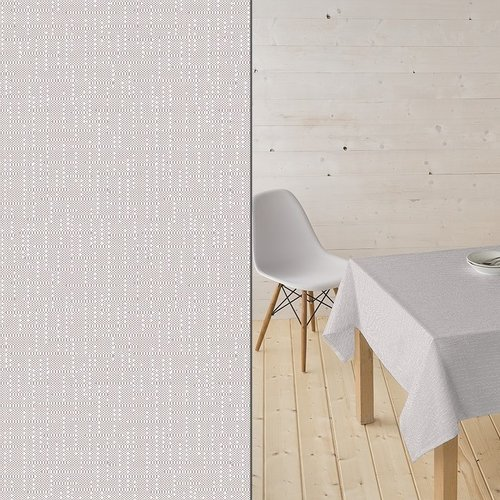 Coated Table Textiles Ginger taupe