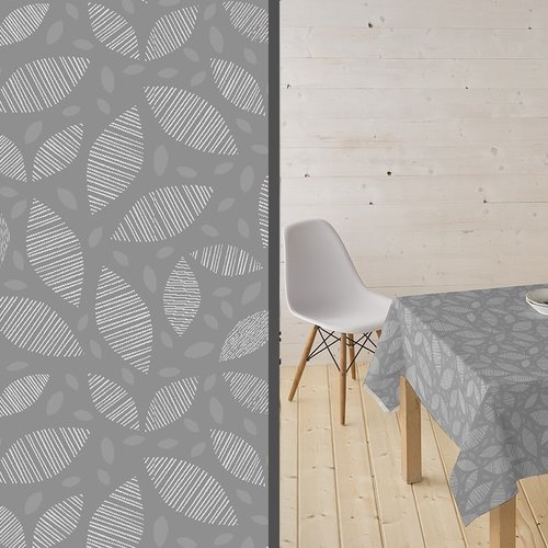 Coated Table textile Ennis gray