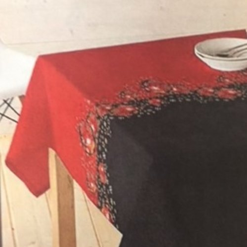 Coated Table Textile Christmas