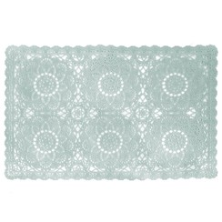 Placemats Dentelia blue packed per 12 pieces
