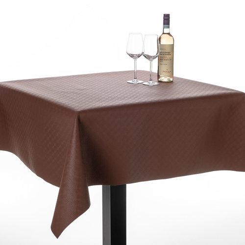 Table protector uni marron