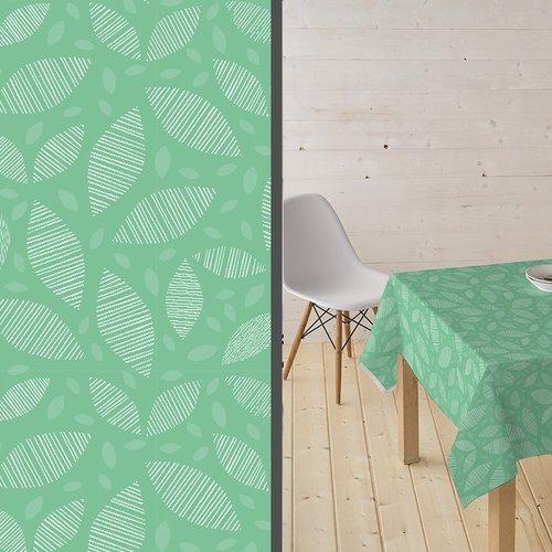 Beschichtete Tisch Textil Ennis grün