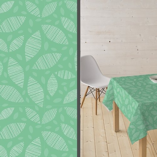 Coated Table textile Ennis green