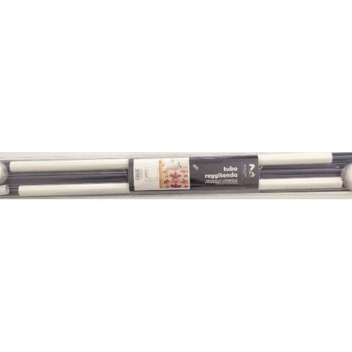 Duschstange 90-90 cm weiß