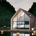 Sonnenschutzfensterfolie 90 cm transp / silber