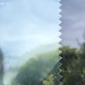 Zonwerende raamfolie 152cm transp/donker