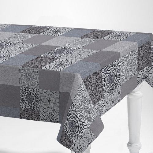 PVC tablecloth Lidon gray