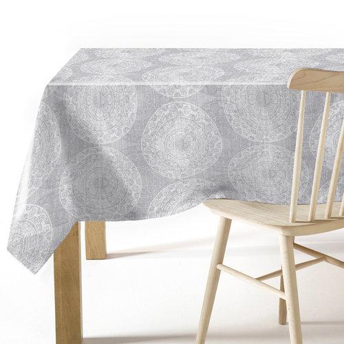 PVC table cover Arnedo gray