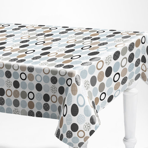 PVC tablecloth Bely gray