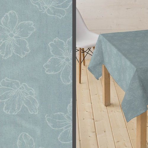 Coated Table textiles Adalis mint