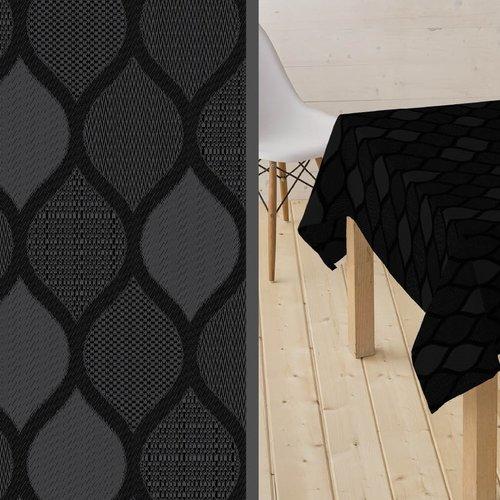 Coated Table textile Karen black