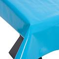 PVC oilcloth Uni turquoise