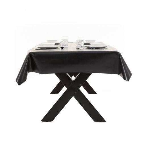 PVC Tafelzeil Uni - zwart