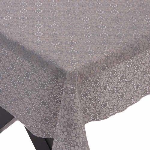 Tafelzeil kant Amal - grijs