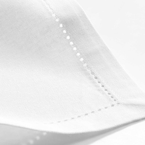 Napkins Charline 40x40 cm white