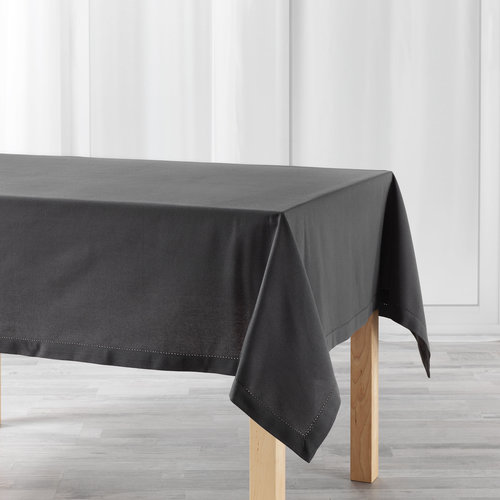 Tablecloth Charline anthracite 140cmx240cm
