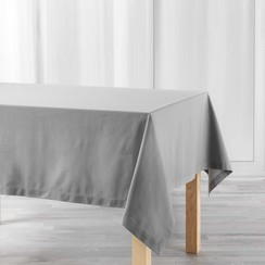 Tafelkleed Charline grijs 140cmx240cm