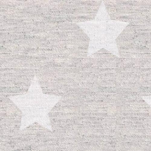 Beschichtete Tischtextilien Sternensilber