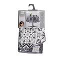 Tablecloth Textile Essentiel persane gray round 180 cm