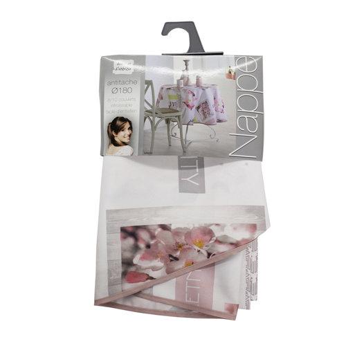 Tablecloth Textile Essentiel ephemis round 180 cm