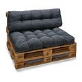 Pallet cushion Basic comfort back part gray