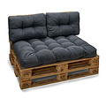 Pallet cushion Basic comfort seating area gray