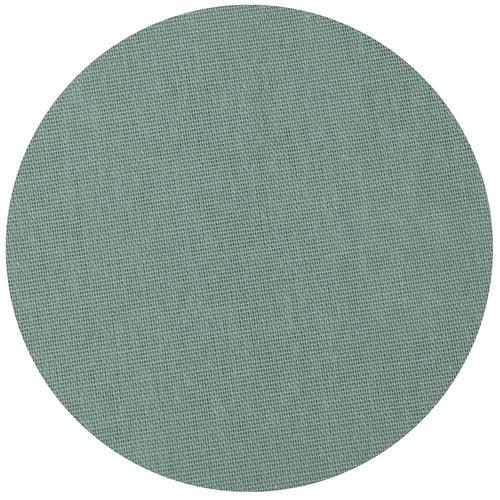 Tafelkleed Dordogne rond 160cm poly/katoen groen
