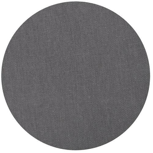 Tafelkleed Dordogne rond 160cm poly/katoen grijs