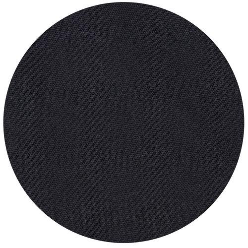 Tafelkleed Dordogne 160cm poly/katoen zwart