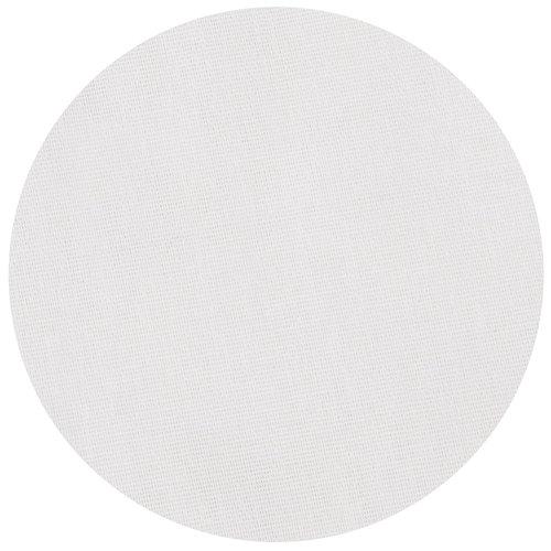 Tafelkleed Dordogne rond 160cm poly/katoen wit