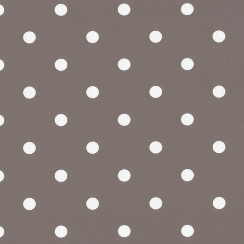 Adhesive foil dots taupe 45cm x 15mtr. rol