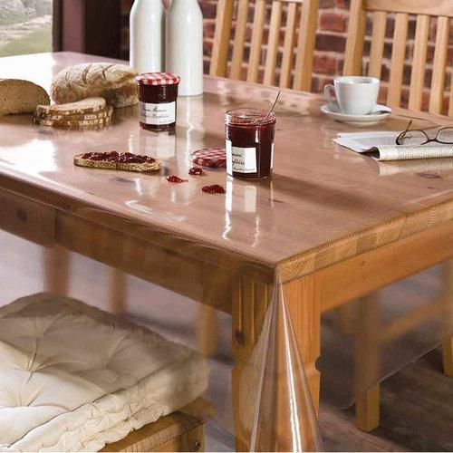 Transparant tafelzeil 0.60mm - 140cmx15mtr