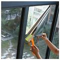 Sun protection window film 90cm x 2m transp / silver