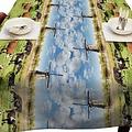 Tafellaken-Tafelkleed- molens 140x250 cm