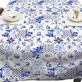 Tablecloth Holland tiles 140x250 cm