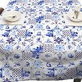 Tischdecke Holland Fliesen 140x250 cm