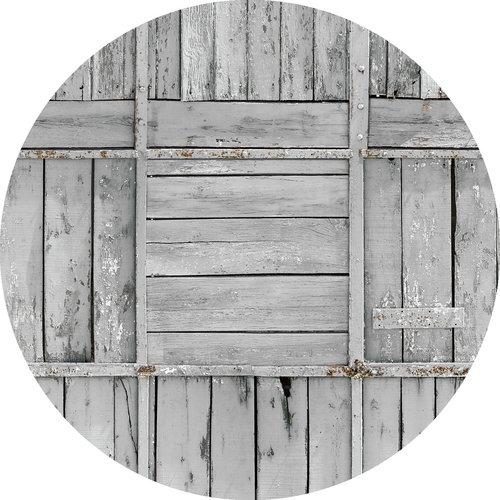 Tafelzeil rond Salinas grijs 160 cm