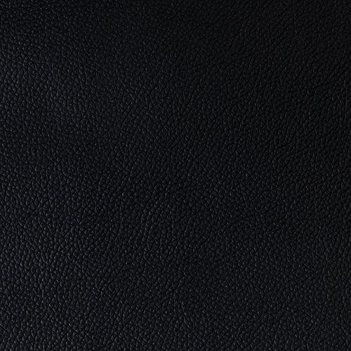 Kunstleer Moon zwart  140cm x 35mtr