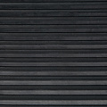 Rubber floor mat lines black 3mm thickness on a roll