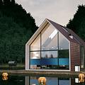 Sonnenschutzfensterfolie 90 cm transp /blauw