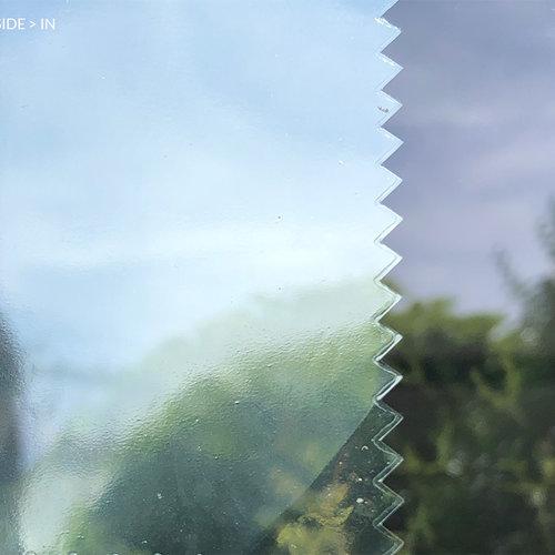 Sun protection window film 90 cm transp /dark