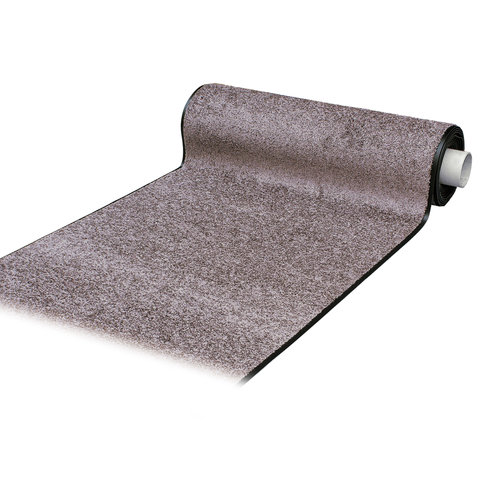 Wash & Clean taupe cleaning mat