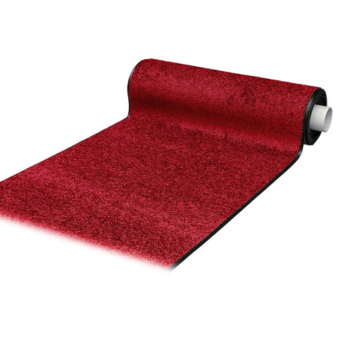 Wash & Clean red cleaning mat
