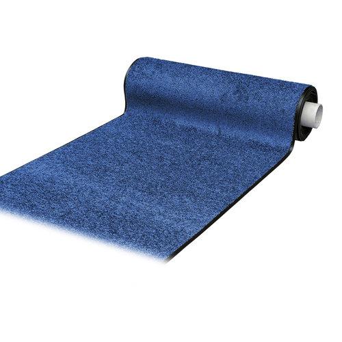 Schoonloopmat Wash & Clean blauw