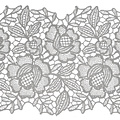 Window film static  kant bloemen ML-1505