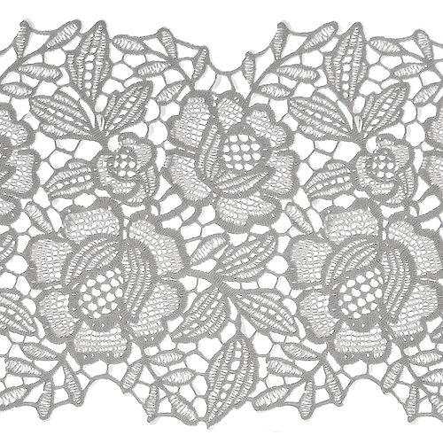 Fensterfolie statisch kant bloemen ML-1505