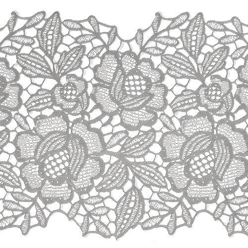 Raamfolie statisch-anti inkijk- statisch-anti inkijk- kant bloemen ML-1505