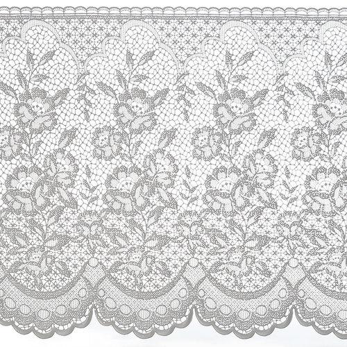 Fensterfolie statisch kant bloemen ML-3002
